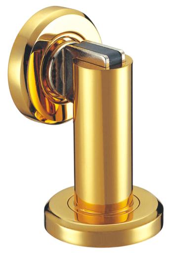 Get Quotations · 1 PC Of Door Hardware Zinc Alloy Door Stops Gold Plated  Powerful Magnetic Door Stoppers,