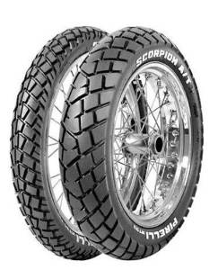 Pirelli MT 90 A/T Tire - Rear - 110/80-18 , Position: Rear, Tire Type: Dual Sport, Tire Size: 110/80-18, Rim Size: 18, Load Rating: 58, Speed Rating: S, Tire Application: All-Terrain 1004500
