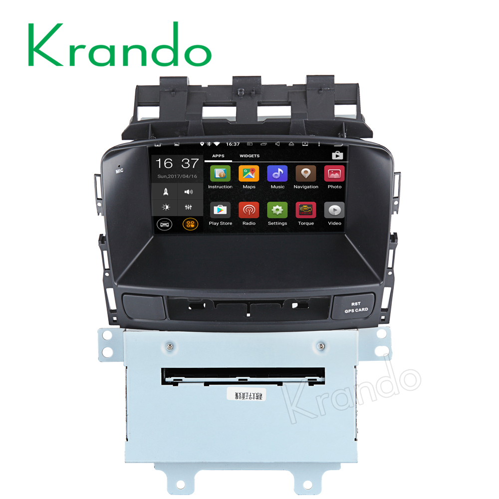 "Krando Android 7.1 7"" touch screen car gps radio player for Opel ASTRA J Excelle GT/XT 2009-2013 car stereo navigation KD-OA713"