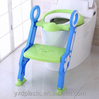 Niedlichen Tier Form Baby Töpfchen Sitz Kinder Potty Weich Wc Sitz Mit Einstellbare Leiter Kind Wc Training Seat Töpfchen