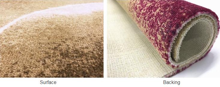 Guangzhou personalizado alfombra del Hotel habitación alfombra diseño elegante