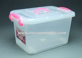 20L Plastic Storage Box With Handle