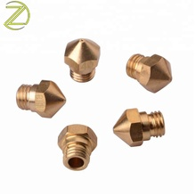 Custom Parts Brass Thread Screw Hex Nozzle Print Head