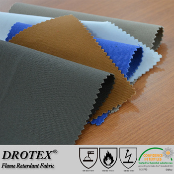 100% cotton fire retardant canvas with high strength used for industry fireproof waterproof canvas