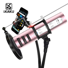 2017 KTV Professionale del telefono mobile mini cavo USB wired e 3.5mm Handheld <span class=keywords><strong>karaoke</strong></span> studio microfono