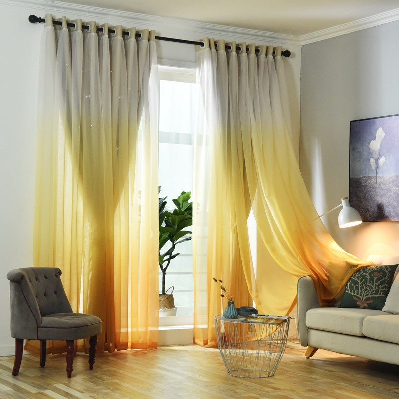 Ready Made Homes Curtain Blackout Piece Sale,Wholesale Living Room Curtains Good Sale $