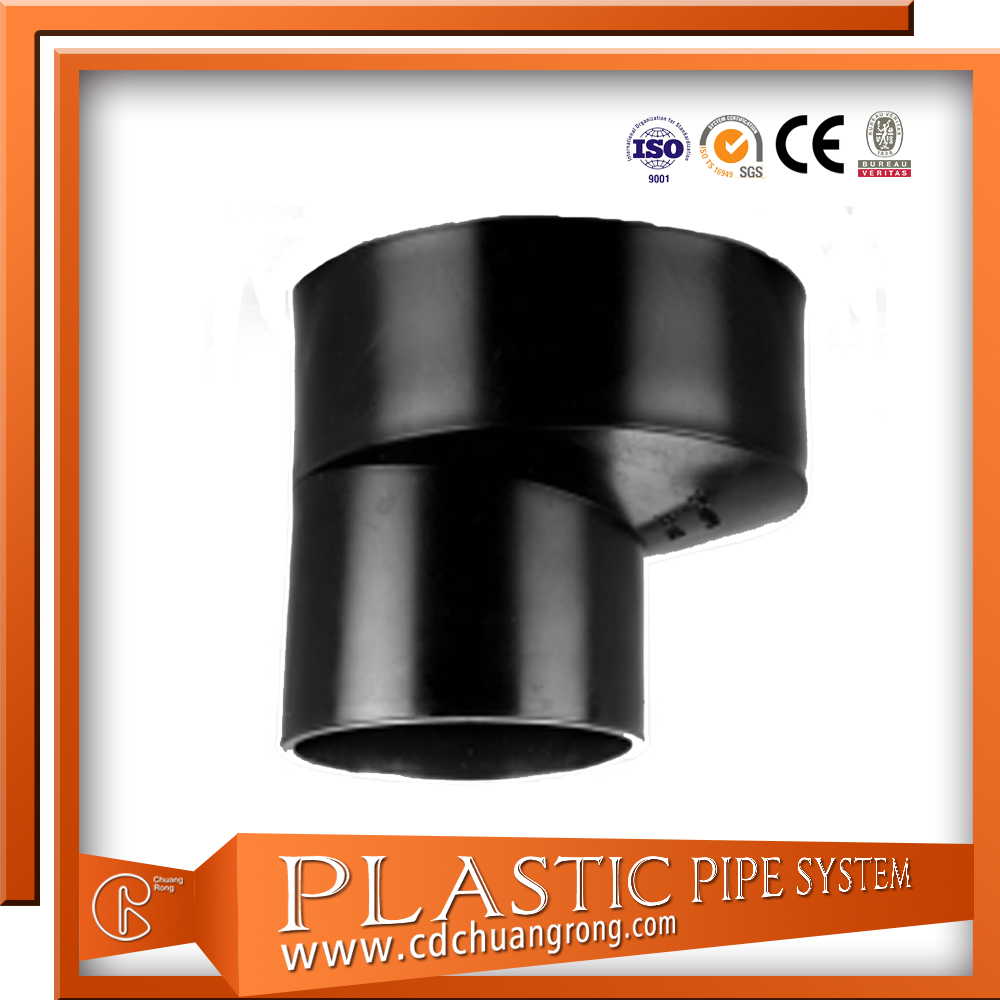 HDPE Elbow 90 Degree for Drain Fittings Plumbing