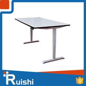 Ruishi Brand office furniture movable study desk adjustable school desk and chair