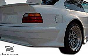 1992-1998 BMW 3 Series E36 2DR Duraflex GT500 Wide Body Rear Fender Flares - 2 Piece
