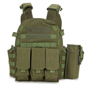 MOLLE 1000D Nylon Breathable Combat Training Water Bottle Holder Adults Military Bullet Proof Vest