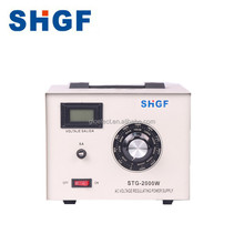 STG 2000Watt Single Phase AC Automatic Voltage Regulator Variac transformer