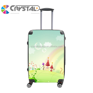 abs pc luggage carry on luggage airport trolley suitcase luggage bag