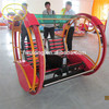 Electric kiddie rides/travelling car happy Go Kart/happy tour kart/Electric Swing car 5S