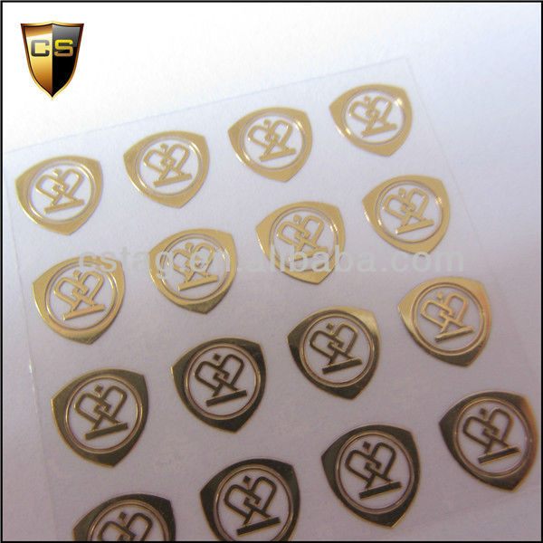 Real gold plating Czech high-end products trademark