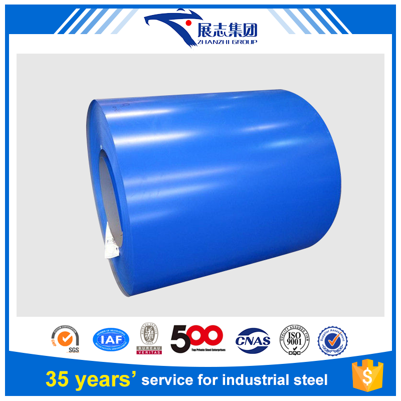 0.6mm*914/1000/1200/1219/1220/1250mm COLOUR COATED STEEL/PREPAINED STEEL COIL FROM CHINA MAIN LAND