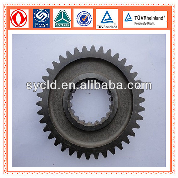 China Truck Transmission full Gearbox The Second Shaft Main Gear 16752