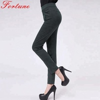 Women office long formal pant in different color