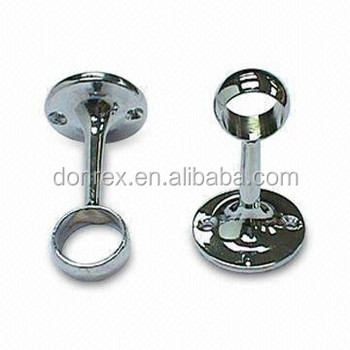 Indoor Stainless Steel Curtain Pole Brackets - Buy Brass Curtain ...