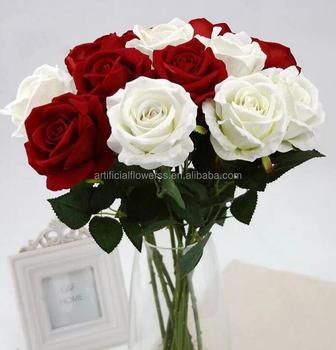 şık Gerçekçi Ucuz Yapay Toptan Tek çiçek Gül Mutlu Fiyat Buy Yapay
