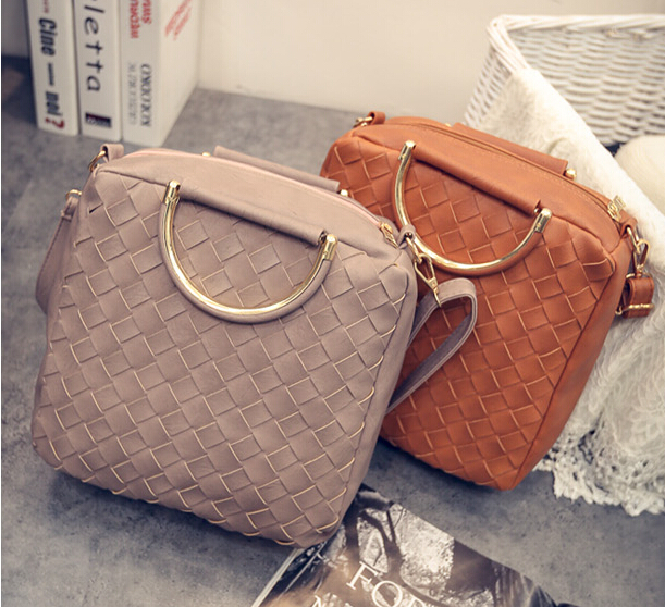 2015 New Products Knitting Women Bag Wholesale Ladies Handbags ...