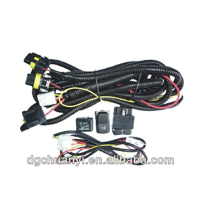 12v Universal Fog Light Wiring Harness With Relay/fuse/switch Lamp on universal fuse box, universal fuel rail, universal air filter, universal heater core, universal equipment harness, stihl universal harness, universal radio harness, universal ignition module, universal steering column, universal miller by sperian harness, universal battery, construction harness, lightweight safety harness,