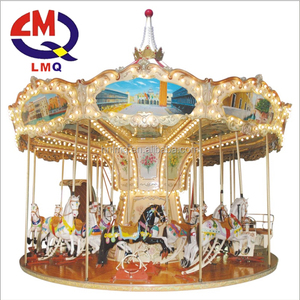 Mr Christmas Carousel.2017 Mr Christmas Musical Carousel Funfair Ride Attractions 24 Seats Carousel For Sale