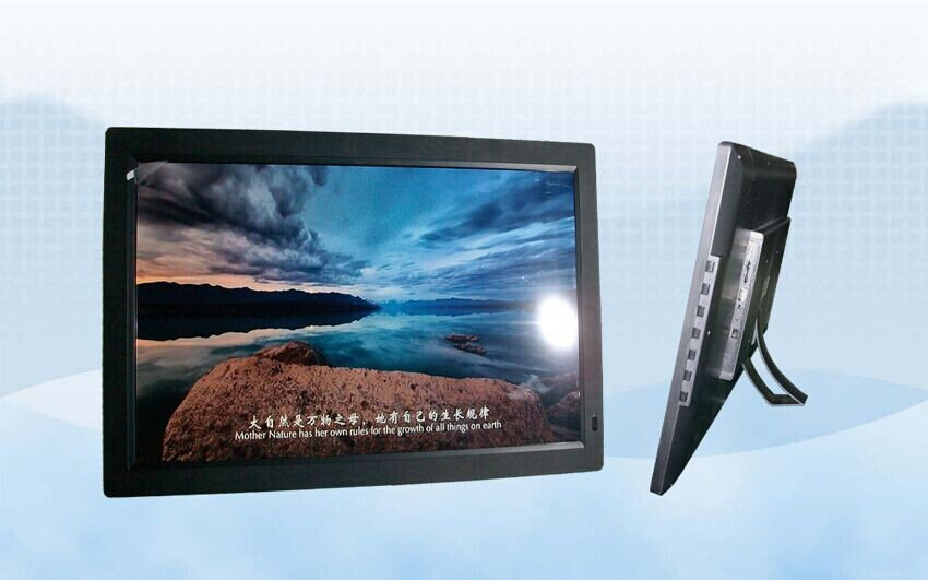 China Codak 20 inch digital photo frame picture frames that play music digital frame