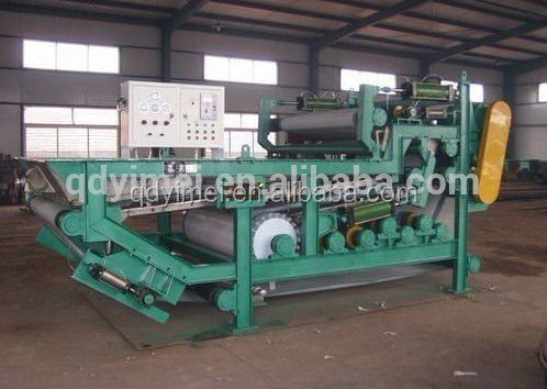 belt filter press sludge treatment equipment used for Light and Textile Industry