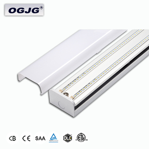 5 Year Warranty office linear fixture Commercial Bulkhead LED Ceiling Light Fitting