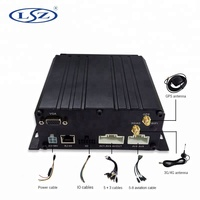 8channel 4G GPS vehicle mobile DVR system live video surveillance tracker for truck security