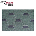 Mosaic roof tile