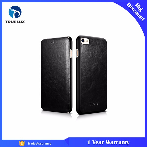 New Arrival for iPhone 7 Plus Wallet Leather Case, Mobile Phone PU Leather for iPhone 7 Plus Flip Cover Wallet Case