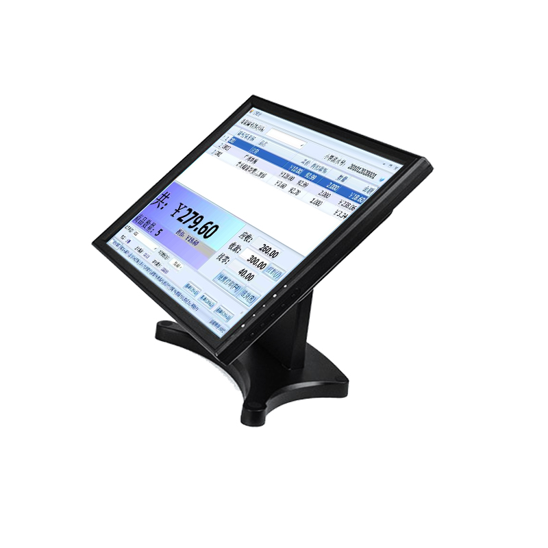 Desktop 17 inch Cheap USB Touch Screen POS Monitor