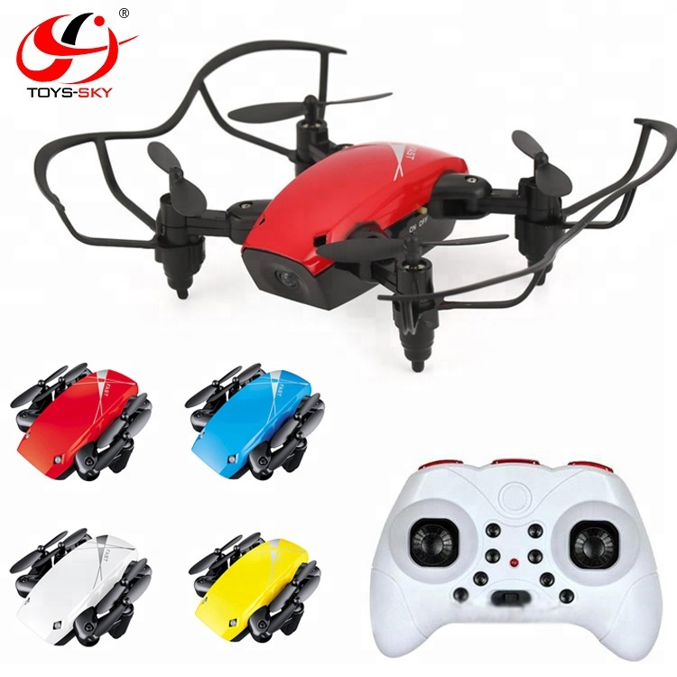 Only 3cm Pocket Drone 2.4G A key Return <strong>Mini</strong> Folded S9 Drone with Headless and Hovering