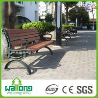 Best sales waterproof wpc outdoor furniture patio benches for garden
