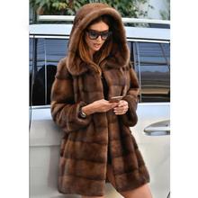 Yihao Jacken Mäntel Damen Mode Lange Nerz Pelzmantel Frau Grau Wasserfall Kragen Bund Frauen Winter Mäntel Mit Taschen Buy Damen Jacken Mäntel,Lange