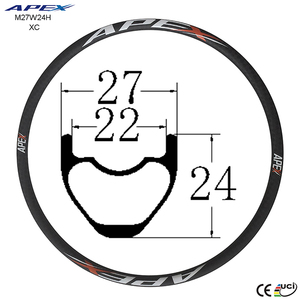 best popular good quality cheap bike rims 24 depth