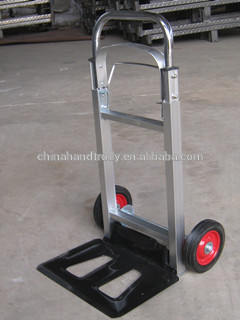 250kg heavy duty furniture rail trolley moving cart hand truck with folding  plate