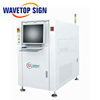 WaveTopSign PCB Online Laser Code Machine Used for Radium Bar Code QR Code Character and Graphic Information on Circuit Board