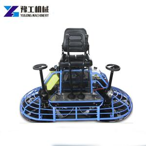 Drive Ride on Concrete Power Trowel Machine for Road Finishing
