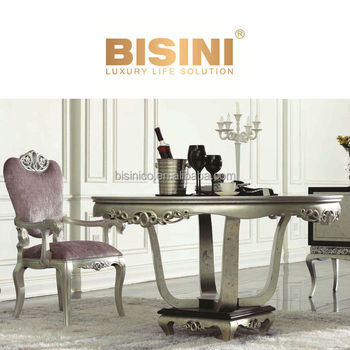European neoclassic style victoria dining room furniture for Dining room tables victoria