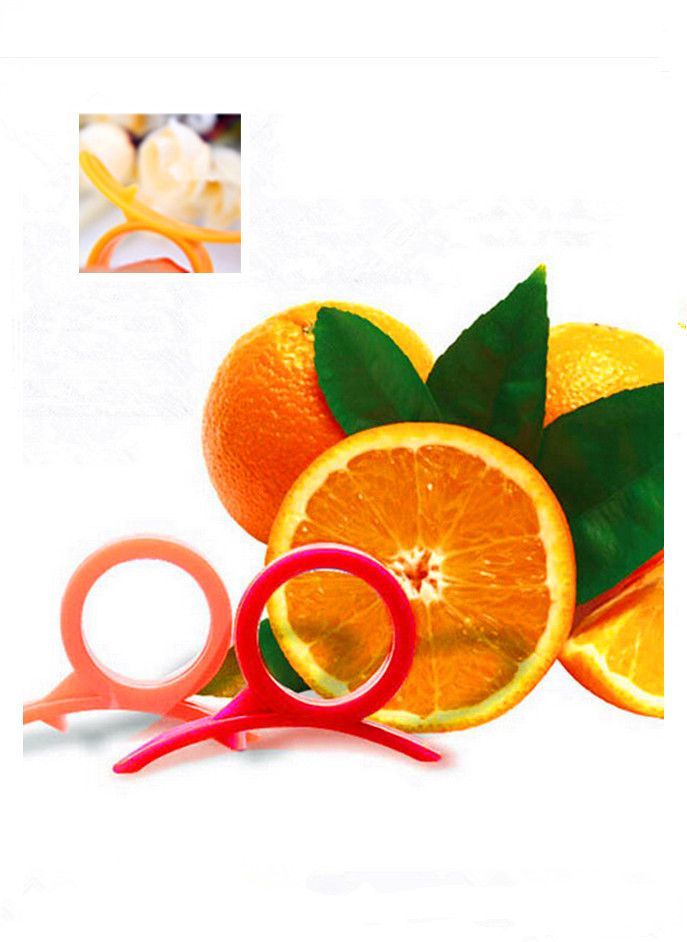 New Arrival 1Pcs Finger Orange Device Hand Saver Orange Lemon Peeler Remover Kitchen Tools Orange Stripper Cheap