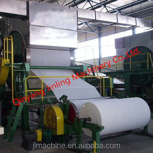 1760mm 5tpd paper machine Toilet roll making machine Papermaking equipment paper manufacture machines