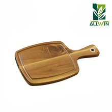 Hot selling 3pcs acacia wood pizza board set, serving board set wholesale