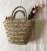 New fashion handmade natural straw beach bag