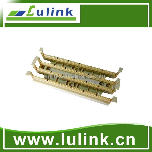 100 pair terminal block for 24-26AWG patch cable