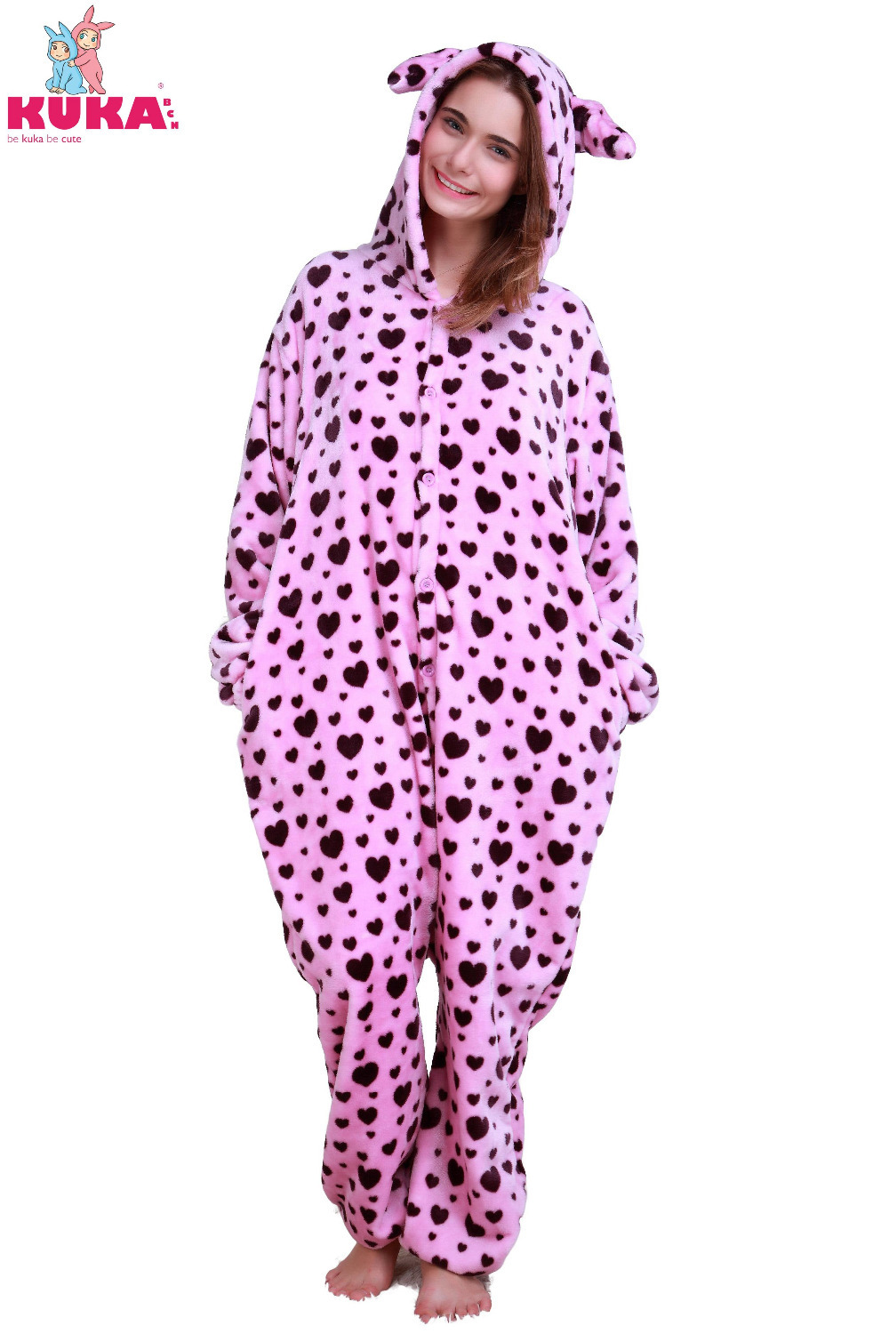 dcf080c1e5 Get Quotations · 2015 New Adult s Purple Spots Onesie Marten Fleece Pijama  Cosplay Costume Pajama For Free Shipping