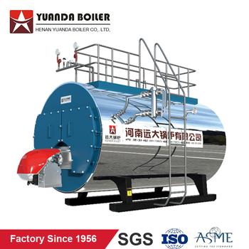 Fire Tube 3 Pass Wet Back Type 1 Ton Oil Fired Steam Boiler - Buy 1 ...
