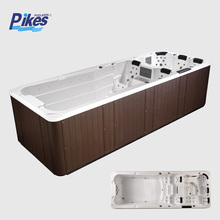 Massage Function and Freestanding Installation Type solid swim spa