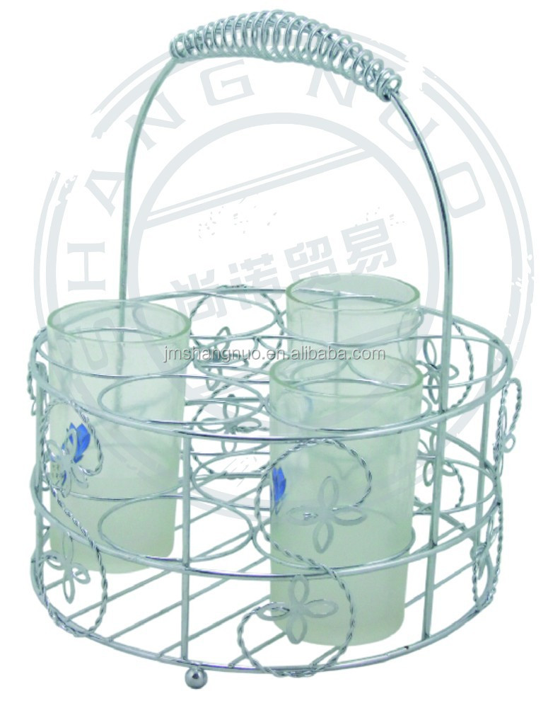 high quality wire hanging cup rack